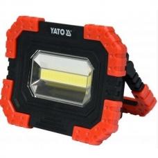 Прожектор LED 10Wt портативный Yato YT-81821