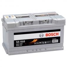 Аккумулятор 12V 85AH 800A Bosch S5 010 Silver Plus 0092S50100
