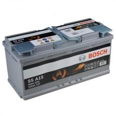 Аккумулятор 12V 105AH 950A Bosch S5 A15 AGM 0092S5A150