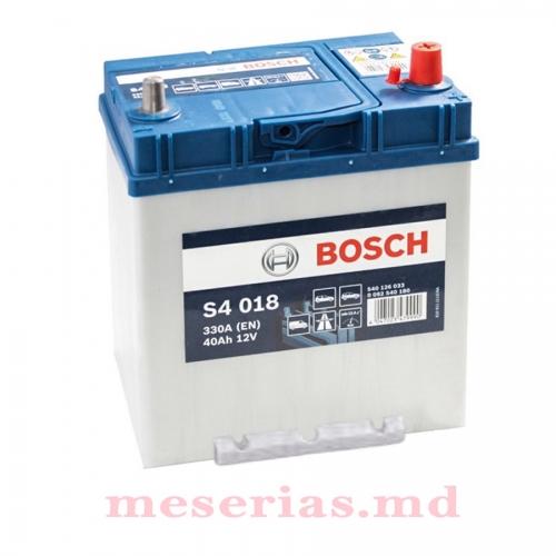 Аккумулятор 12V 40AH 330A Bosch S4 Silver 0092S40300