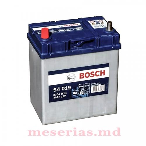 Аккумулятор 12V 40AH 330A Bosch S4 Silver 0092S40190