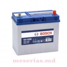 Аккумулятор 12V 45AH 330A Bosch S4 Silver 0092S40200