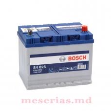 Аккумулятор 12V 70AH 630A Bosch S4 Silver 0092S40260