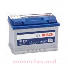Аккумулятор 12V 74AH 680A Bosch S4 Silver 0092S40080