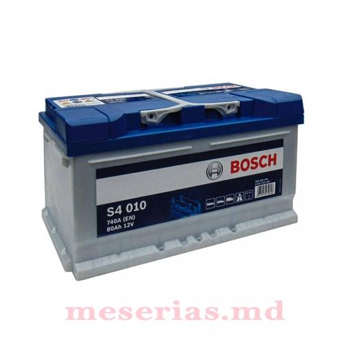 Аккумулятор 12V 80AH 740A Bosch S4 Silver 0092S40100