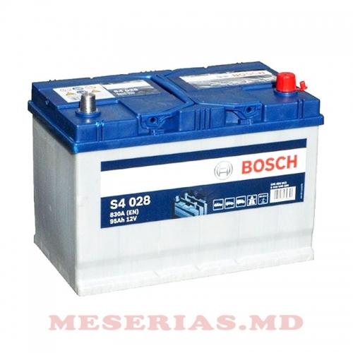 Аккумулятор 12V 95AH 830A Bosch S4 Silver 0092S40280