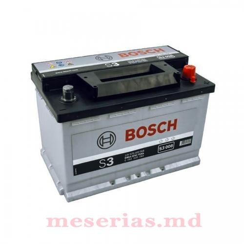 Аккумулятор 12V 70AH 640A Bosch S3 0092S30080