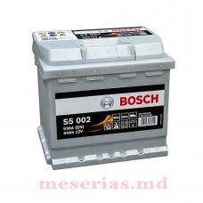 Аккумулятор 12V 54AH 530A Bosch S5 Silver Plus 0092S50020