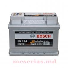 Аккумулятор 12V 61AH 600A Bosch S5 Silver Plus 0092S50040