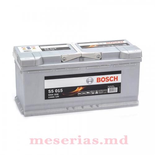 Аккумулятор 12V 110AH 920A Bosch S5 Silver Plus 0092S50150