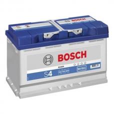 Аккумулятор 12V 80AH 740A Bosch S4 Silver 0092S40110