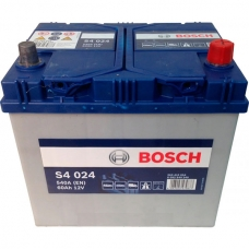 Аккумулятор 12V 60AH 540A Bosch 0092S40240 S4 024