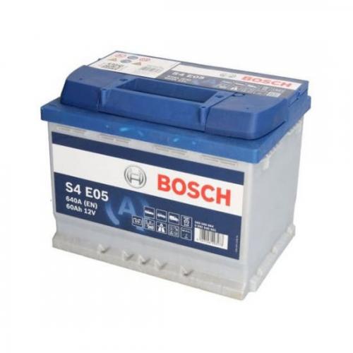 Аккумулятор 12V 60AH 640A Bosch 0092S4E051 S6 005 EFB(AGM-)