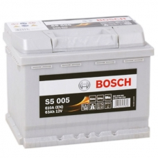 Аккумулятор 12V 63AH 610A Bosch 0092S50050 S5 005