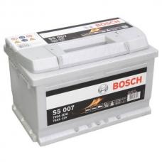 Аккумулятор 12V 74AH 750A Bosch S5 Silver 0092S50070