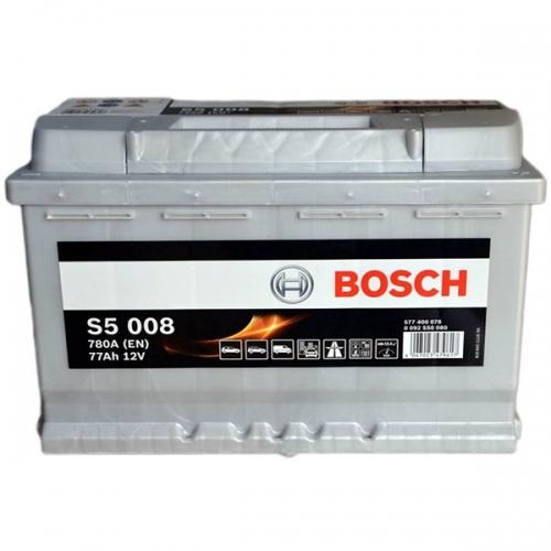 Аккумулятор 12V 77AH 780A Bosch 0092S50080 S5 008