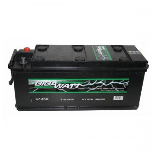 Аккумулятор 12V 140AH 760A GigaWatt 0185364035 T4 075