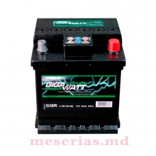 Аккумулятор 12V 40AH 340A GigaWatt 0185754006 S4 000
