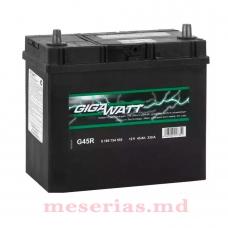 Аккумулятор 12V 45AH 330A GigaWatt 0185754555 S4 020
