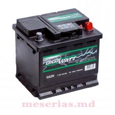 Аккумулятор 12V 52AH 470A GigaWatt 0185755200 S4 002