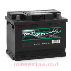 Аккумулятор 12V 60AH 540A GigaWatt 0185756008 S4 005