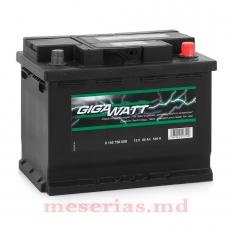 Аккумулятор 12V 60AH 540A GigaWatt 0185756027 S4 006