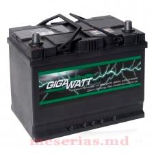 Аккумулятор 12V 68AH 550A GigaWatt 0185756805 S4 027
