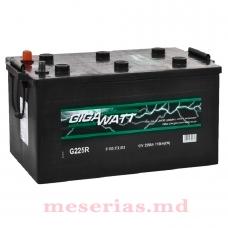 Аккумулятор 12V 225AH 1150A GigaWatt 0185372512 T5 080