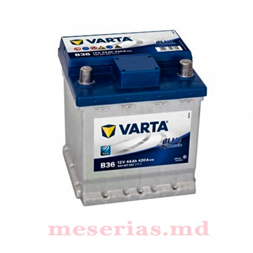 Аккумулятор 12 V 44AH 420A Varta Blue Dynamic 544 401 042