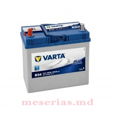 Аккумулятор 12 V 45AH 330A Varta Blue Dynamic 545 155 033 тонкая клема