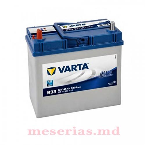 Аккумулятор 12 V 45AH 330A Varta Blue Dynamic 545 157 033 тонкая клема