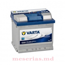Аккумулятор 12V 52AH 470A Varta Blue Dynamic 552 400 047