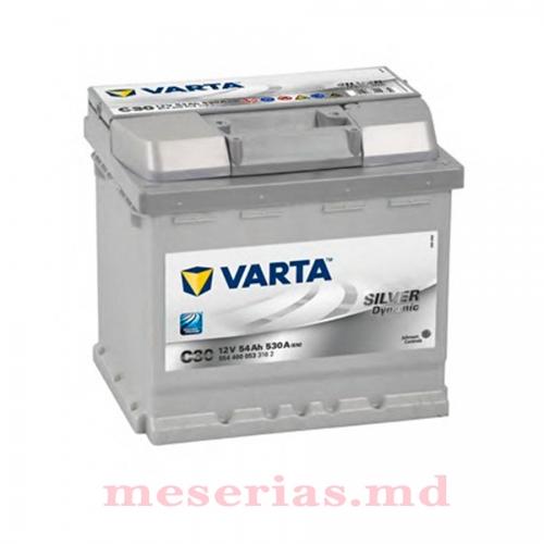 Аккумулятор 12V 54AH 530A Varta Silver Dynamic 554 400 053