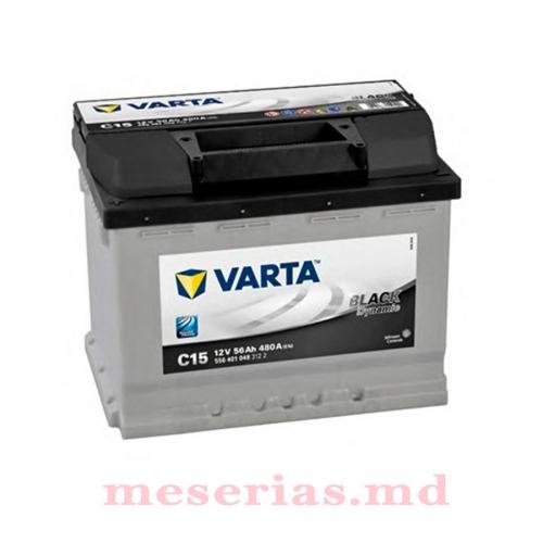 Аккумулятор 12V 56AH 480A Varta Black Dynamic 556 401 048