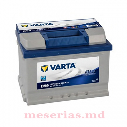 Аккумулятор 12V 60AH 540A Varta Blue Dynamic 560 409 054