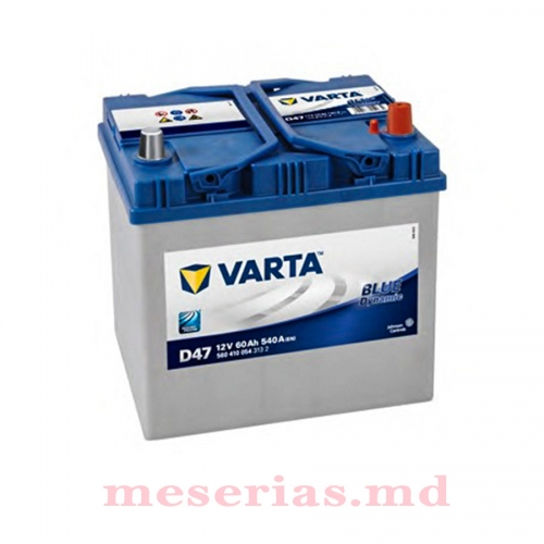Аккумулятор 12V 60AH 540A Varta Blue Dynamic 560 410 054