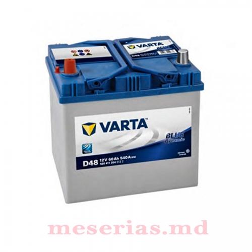 Аккумулятор 12V 60AH 540A Varta Blue Dynamic 560 411 054