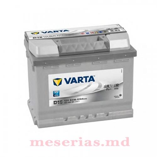 Аккумулятор 12V 63AH 610A Varta Silver Dynamic 561 400 061