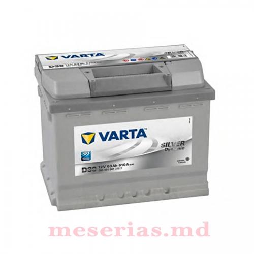 Аккумулятор 12V 63AH 610A Varta Silver Dynamic 561 401 061