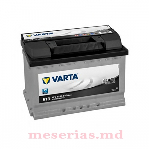 Аккумулятор 12V 70AH 640A Varta Black Dynamic 570 409 064