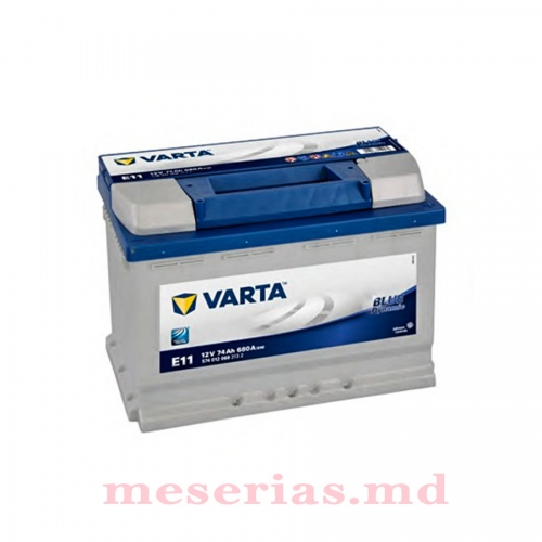 Аккумулятор 12V 74AH 680A Varta Blue Dynamic 574 012 068