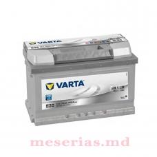 Аккумулятор 12V 74AH 750A Varta Silver Dynamic 574 402 075