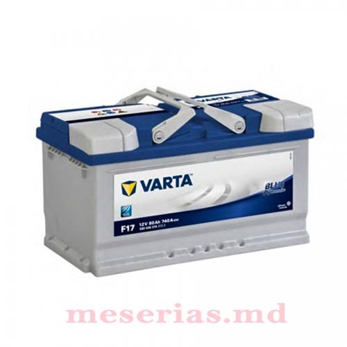 Аккумулятор 12V 80AH 740A Varta Blue Dynamic 580 406 074