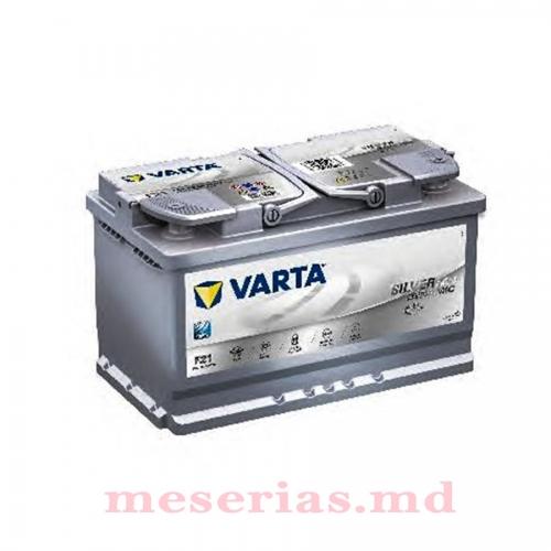 Аккумулятор 12V 80AH 800A Varta Silver Dynamic AGM 580 901 080