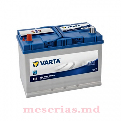 Аккумулятор 12V 95AH 830A Varta Blue Dynamic 595 405 083