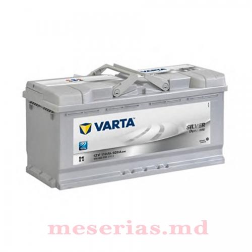 Аккумулятор 12V 110AH 920A Varta Silver Dynamic 610 402 092