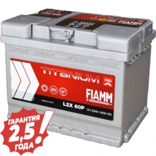 Аккумулятор 12 V 60AH 540A Fiamm Titanium Pro