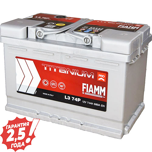 Аккумулятор 12 V 74AH 680A Fiamm Titanium Pro