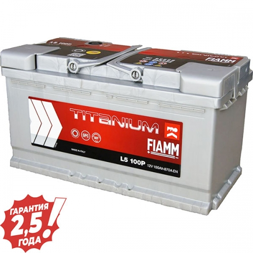 Аккумулятор 12 V 100AH 870A Fiamm Titanium Pro