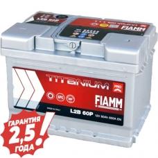 Аккумулятор 12 V 60AH 600A Fiamm Titanium Pro